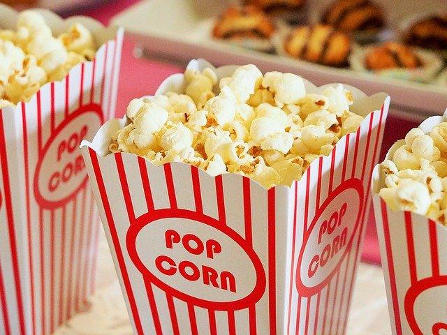 Du pop corn pour le cinéma sur le thème des Escape Games.